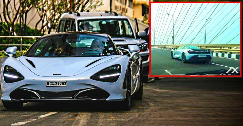 [Video] Watch Gautam Singhania tear up Mumbai roads in his Mclaren 720S supercar