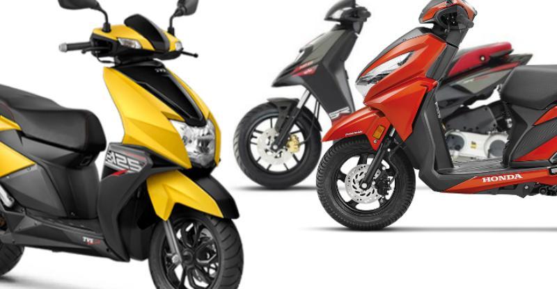 Aprilia SR125 vs TVS NTorq vs Honda Grazia automatic scooter comparison