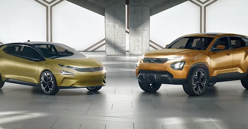 [Video] Tata H5X SUV (Hyundai Creta rival) & 45X premium hatchback (Maruti Baleno rival) showcased