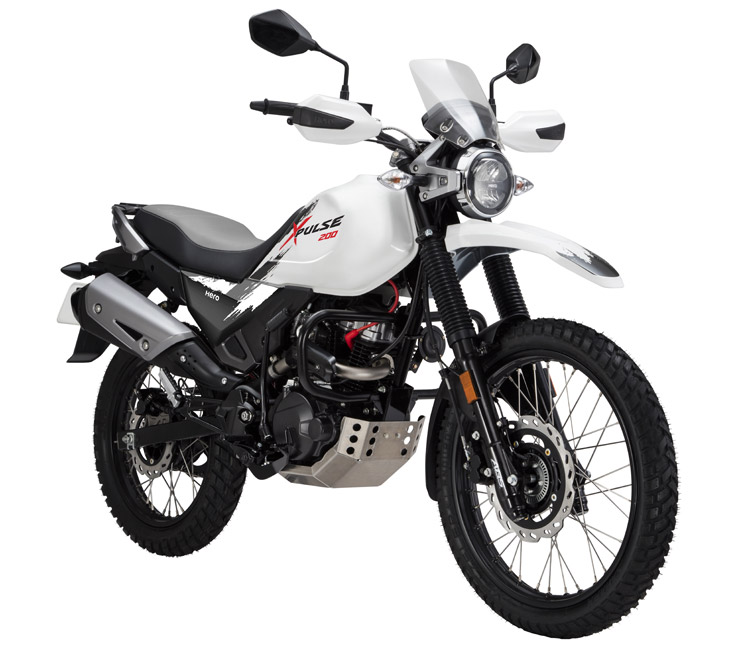 Hero XPulse: India's first 200cc adventure motorcycle revealed at the Auto Expo 2018