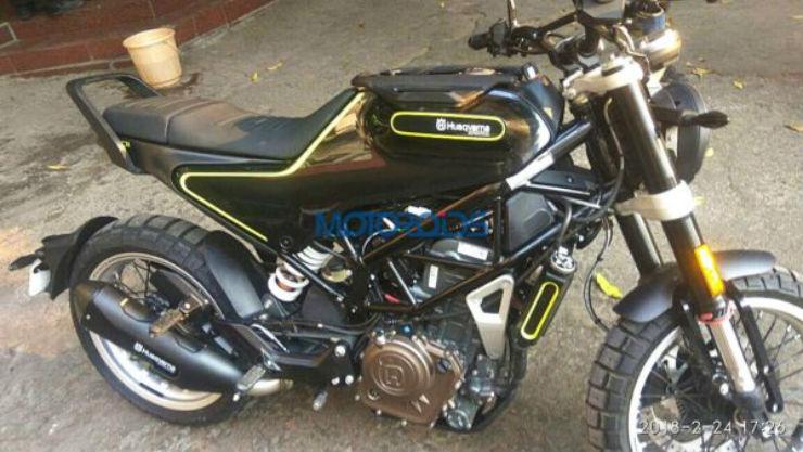 KTM 390 Duke-based Husqvarna Vitpilen & Svartpilen: Upcoming retro-motorcycles in clearest spyshots
