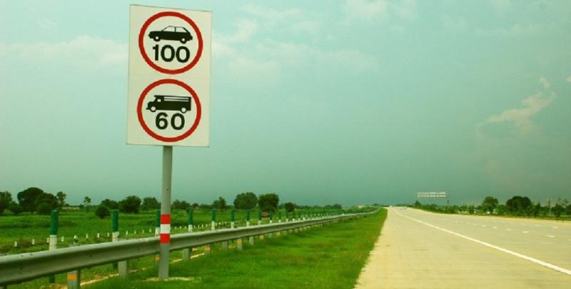 Highway speed limit increased for cars, two wheelers, trucks & buses