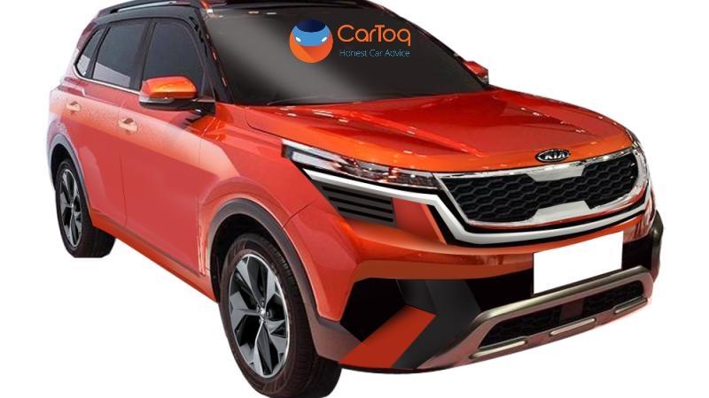 Kia SP (Hyundai Creta challenger) compact SUV rendered ahead of Auto Expo unveil