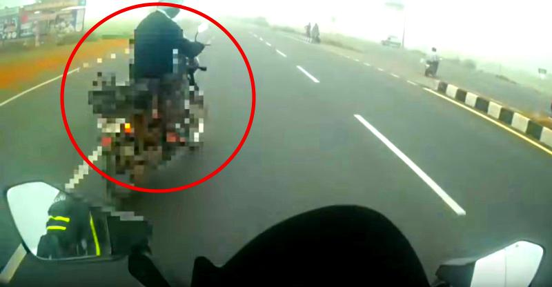 [Video] KTM RC390 rider in a huge crash shows why riding gear is so CRITICAL