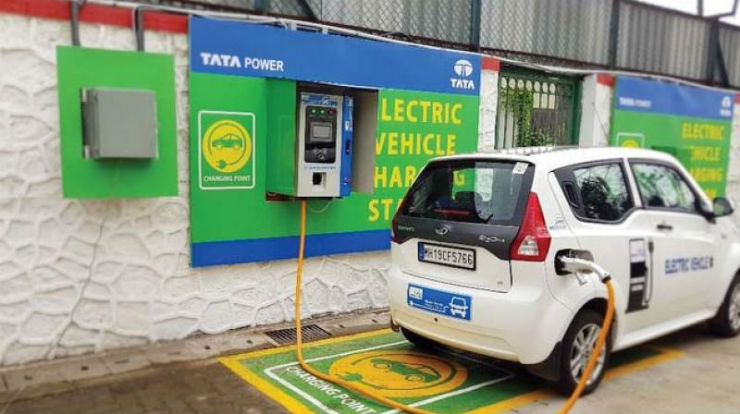 Electric vehicle chargers to be set-up at Indian railway stations