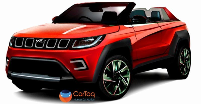 mahindra tuv300 based stinger convertible suv coming to the auto expo what it 39 ll look like. Black Bedroom Furniture Sets. Home Design Ideas