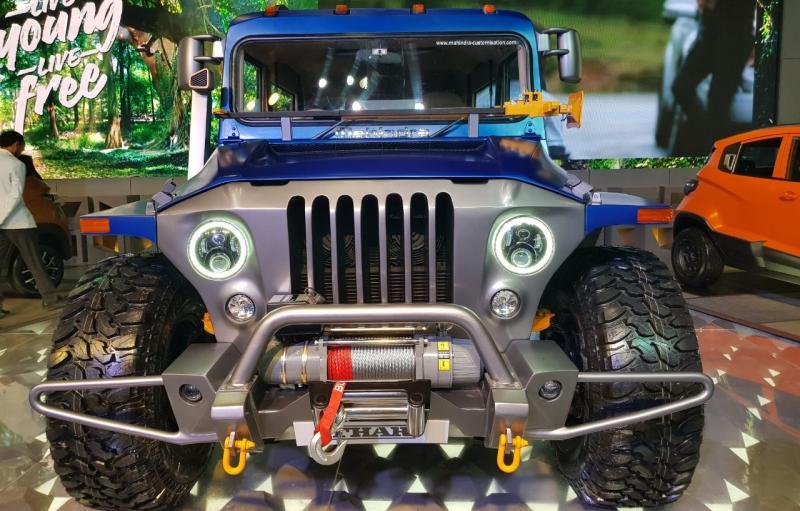 Mahindra Thar Wanderlust custom off-roader revealed at the 2018 Auto Expo