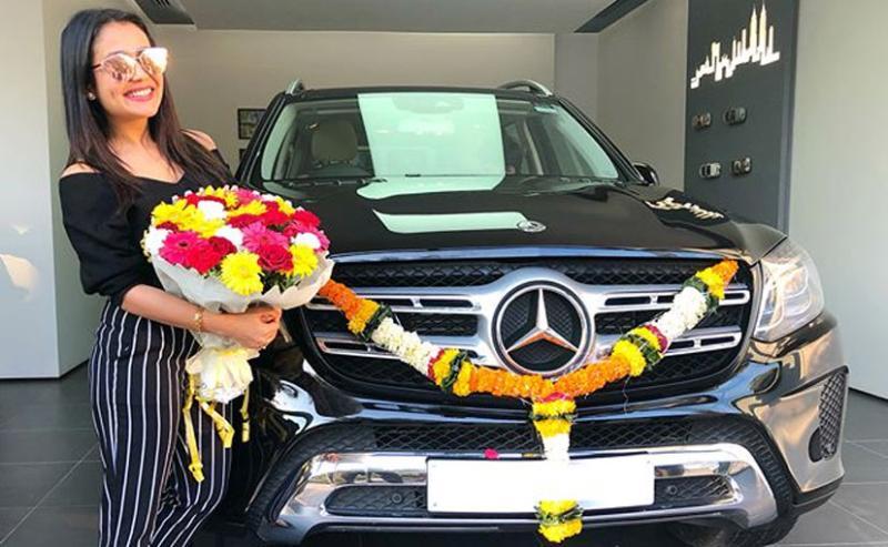 Mercedes Benz GLS SUV is singer Neha Kakkar's latest set of swanky wheels
