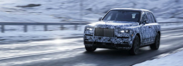 Rolls Royce SUV will be called Cullinan, revealed in a render