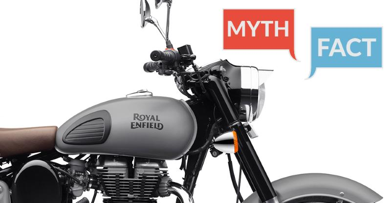 BUSTED! 10 biggest myths about Royal Enfield motorcycles