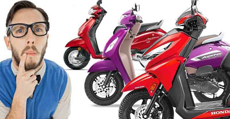 How to decide between Honda Activa, Grazia & TVS Jupiter automatic scooters