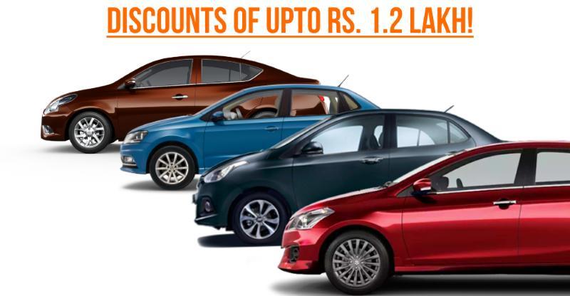 10 hot sedans with MASSIVE discounts: Maruti Ciaz to Hyundai Xcent