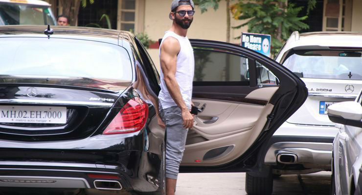 Shahid Kapoor and his cars and bikes!