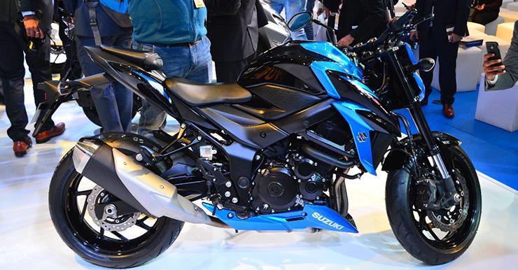 Suzuki GSX S 750 Images