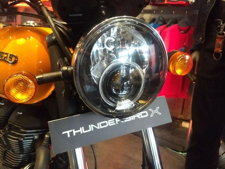 royal enfield thunderbird x images headlamp