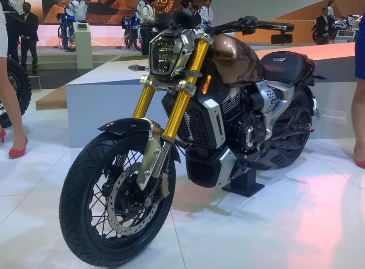 TVS Zeppelin Cruiser Motorcycle Concept 1