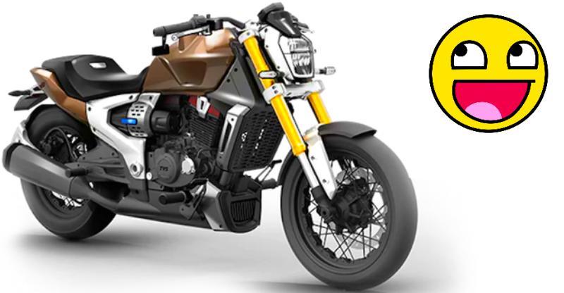 TVS Zeppelin-based motorcycles confirmed: Cruiser + Retro-street