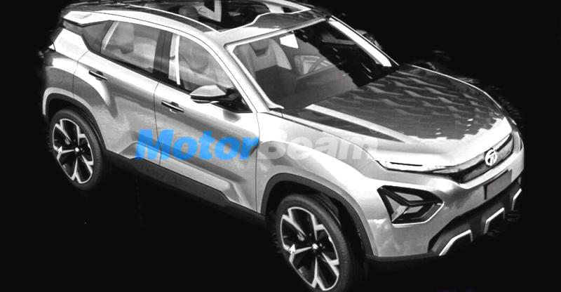 Tata H5X (Q501) SUV revealed through leaked sketch; Official unveil at Auto Expo
