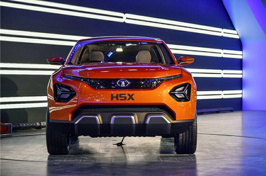 Tata H5X SUV officially unveiled: Auto Expo 2018 Live