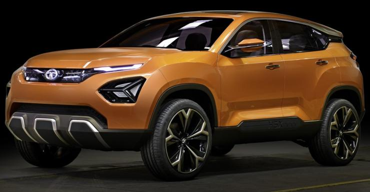 upcoming tata cars in india - h5x suv