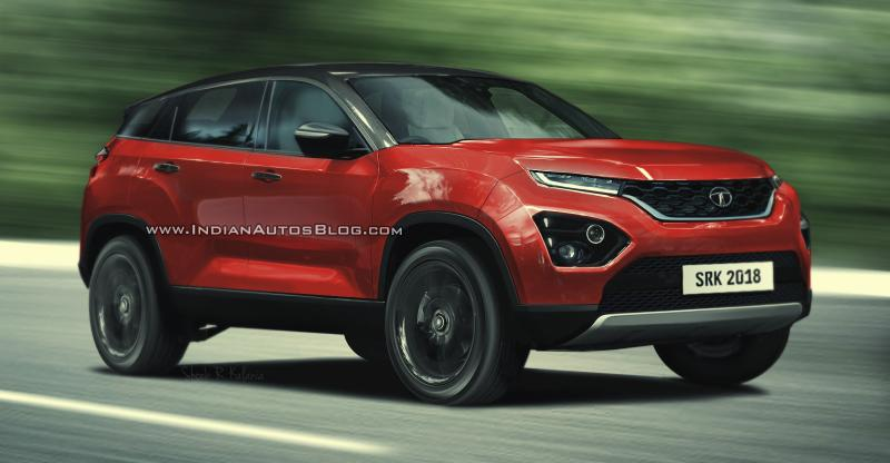 Tata H5X:  New render of the SUV's production version looks beautiful!
