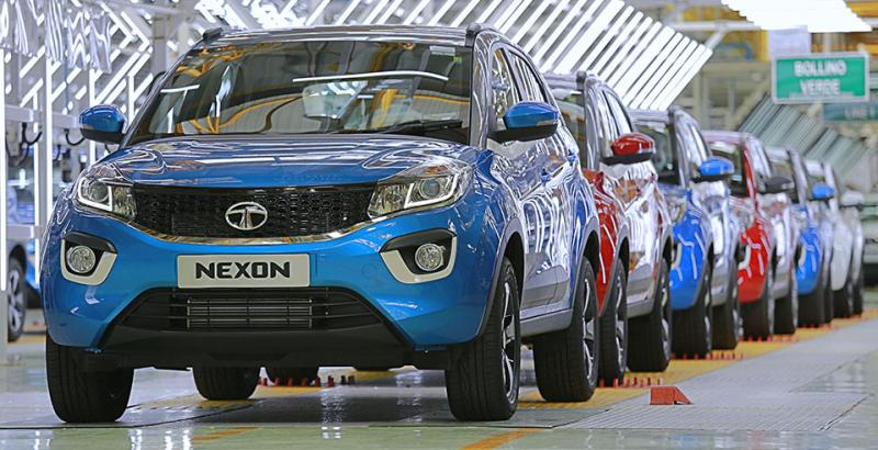 25,000 Tata Nexon compact SUVs built in India