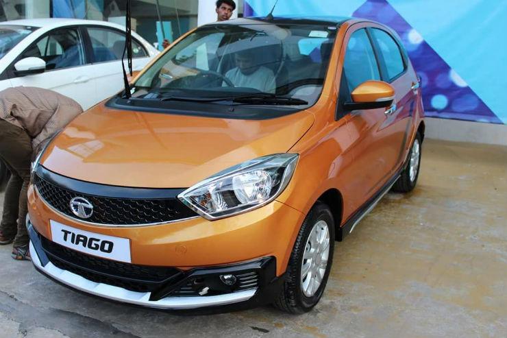 Tata Tiago Aktiv Maruti Suzuki Celerio X Rival Spotted At A