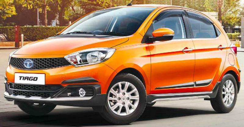 Tata Tiago Aktiv – Maruti Suzuki Celerio X rival – spotted at a showroom in India