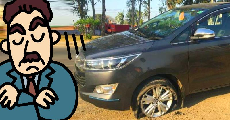 Toyota Innova Crysta MPV: Owners complaining of tyre bursts