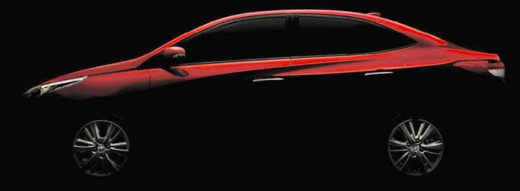 Toyota Yaris Ativ (Honda City challenger) teased before India debut at Auto Expo 2018