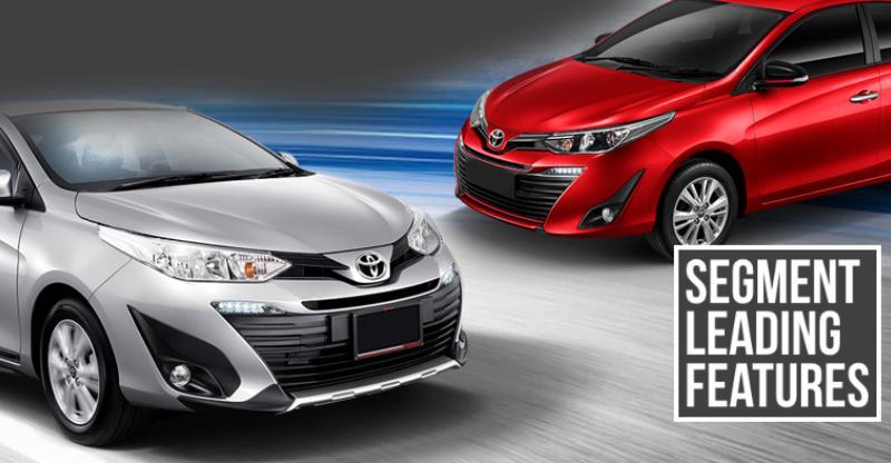 10 segment-leading features of the Toyota Yaris sedan