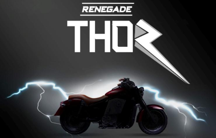 UM Renegade Thor: India's first electric cruiser motorcycle teased ahead of Auto Expo debut