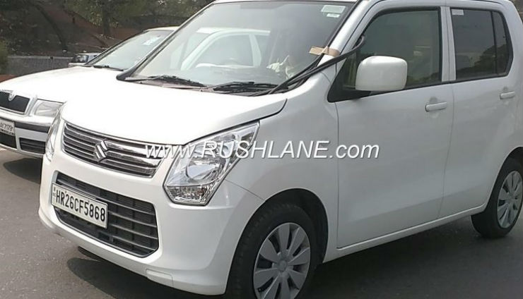 All-new Maruti WagonR revealed in spy shots before the official launch