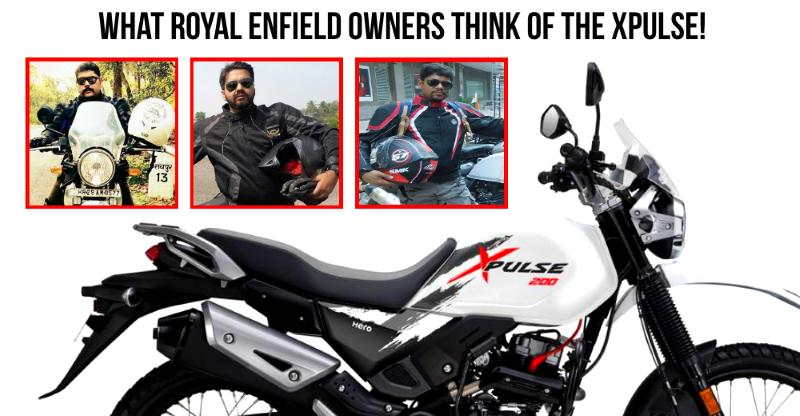 What Royal Enfield Himalayan owners think of the new Hero XPulse adventure motorcycle