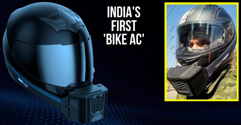 Image result for AC for Indian bikers : BluSnap helmet cooler customer review [Video]