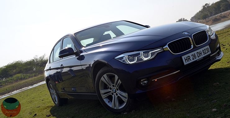 bmw 320d edition sport review images front angle