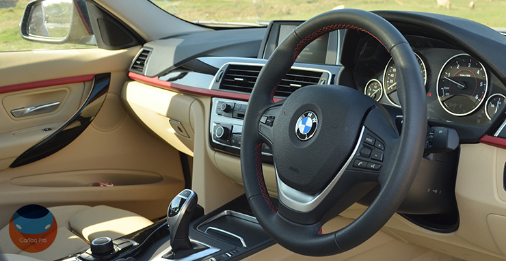 bmw 320d edition sport review images interior dashboard steering