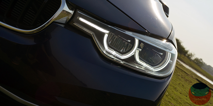 bmw 320d edition sport review images led headlight