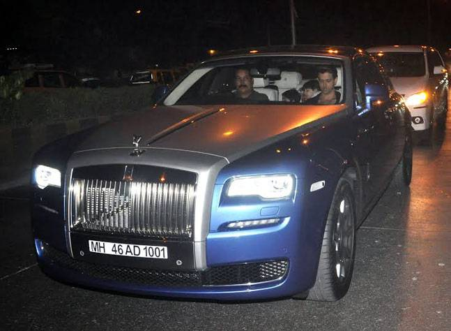 cars of rich and famous india hrithik roshan-rolls-royce ghost