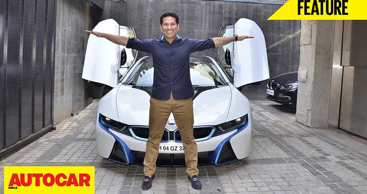 cars of rich and famous india sachin tendulkar image