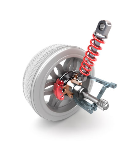 easy car modifications stiffer suspension. images