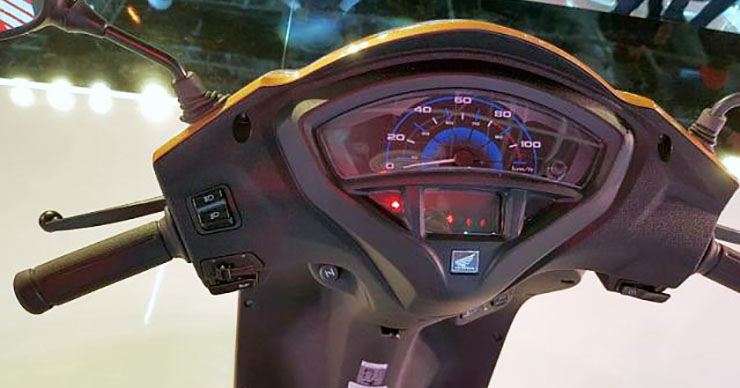 honda activa 5g images digital-speedo console