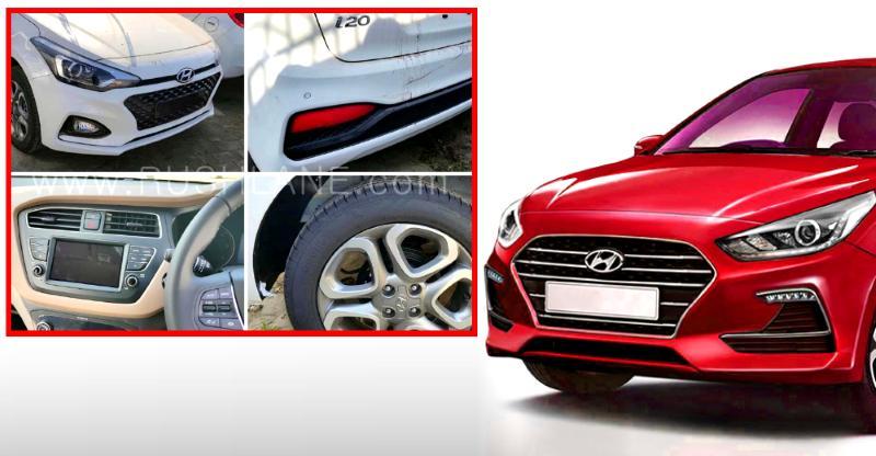 Hyundai Elite i20 Facelift fully revealed through new spyshots
