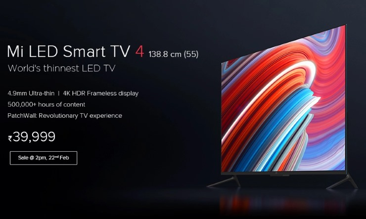 mi LED TV launched in India photo