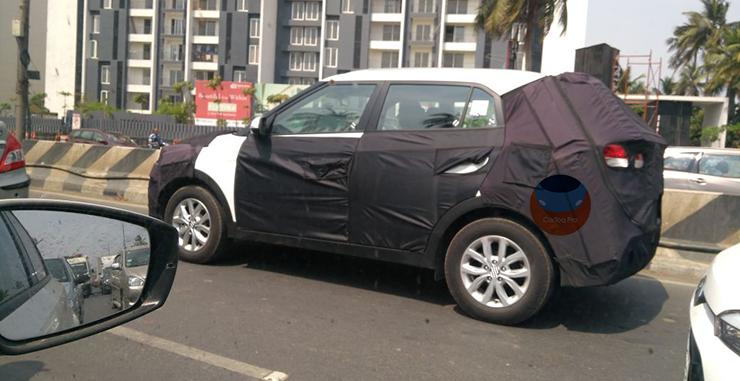 New Hyundai Creta facelift: Caught on camera!