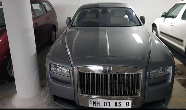 nirav modi cars rolls royce-ghost image
