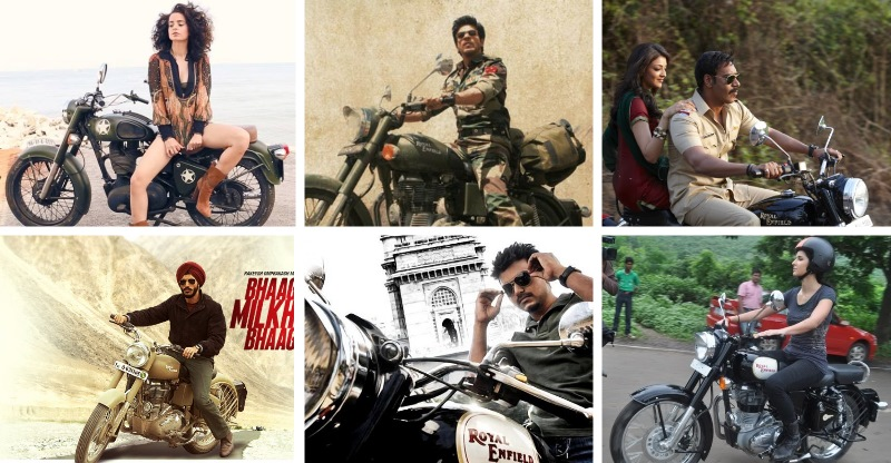 Royal Enfields in Indian movies and the stars who rode them: From Shahrukh Khan to Ranveer Singh