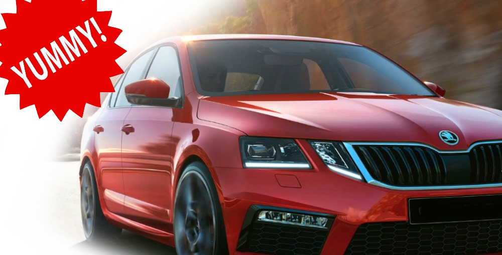 skoda octavia vrs india - one of the most attractive cars in the market