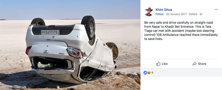 tata tiago accident images