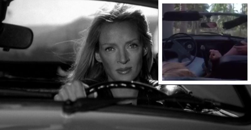 [Video] Uma Thurman posts her own car accident from the sets of Kill Bill